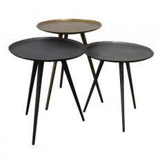S/3 Side Tables Mixed