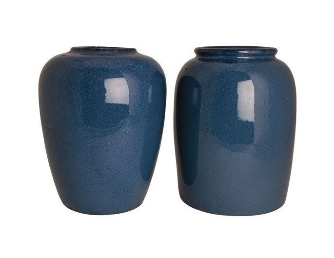 Set of 2 Vases - Ocean Blue