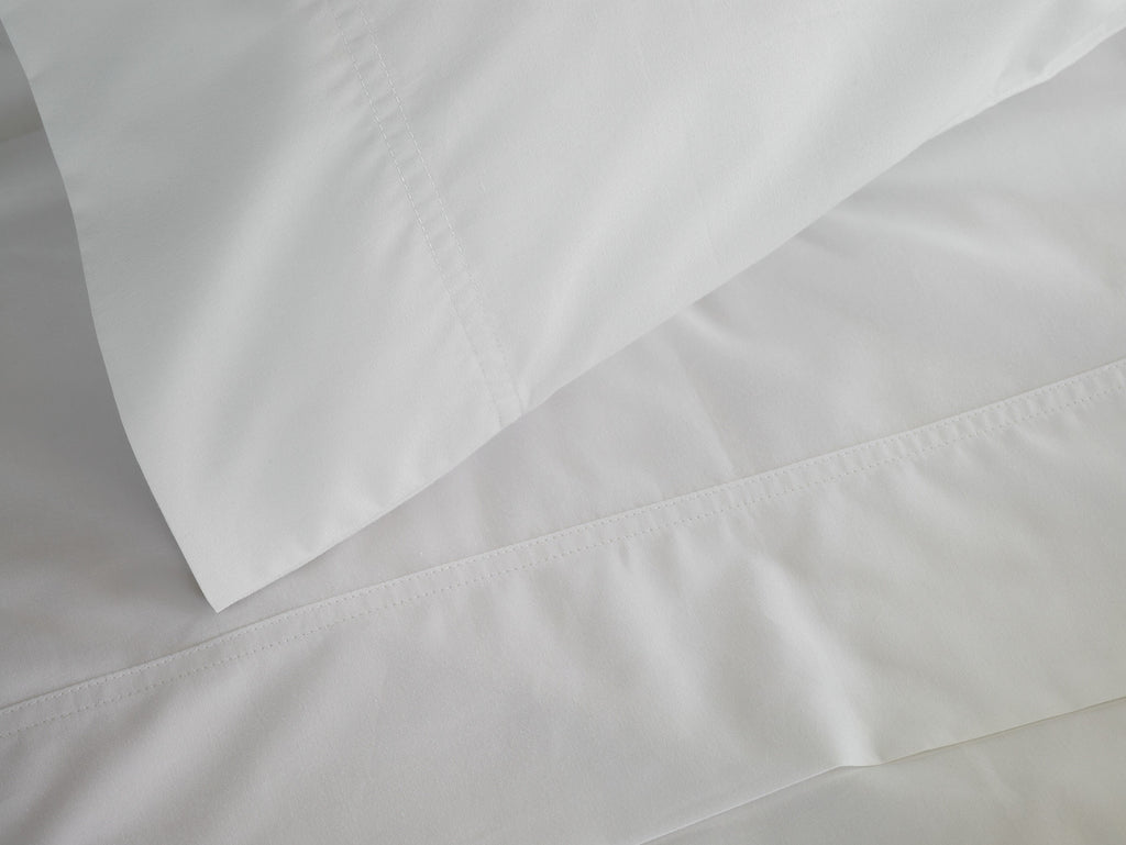310 Percale White Sheet Set