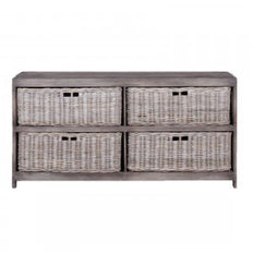 Buffet with Baskets  - Old Grey