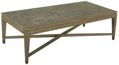 Courtney Oak Coffee Table