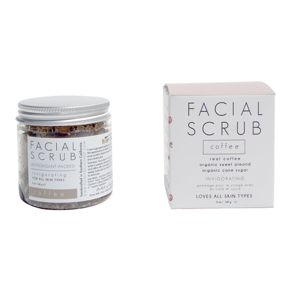 Facial Sugar Scrub - Coffee