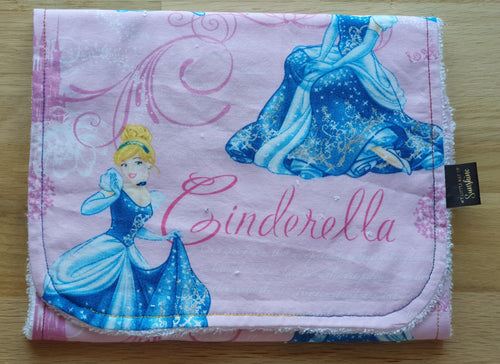Cinderella Burp Cloth - large