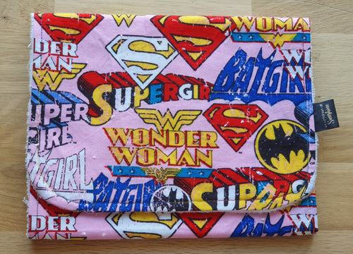 Wonder Woman Burp Cloth - large