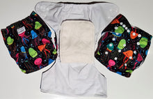 Modern Cloth Nappies with 5 layer Bamboo insert
