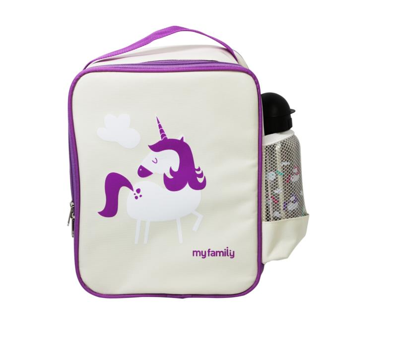 My Family Lunch Cooler Bag Unicorn
