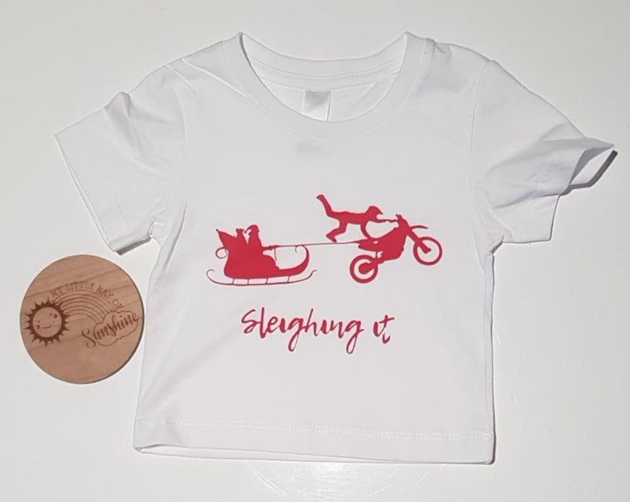 Sleighing It Tees