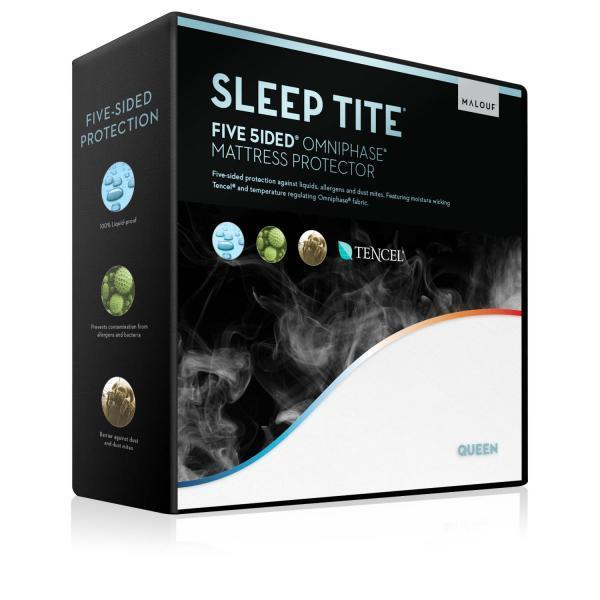 Five 5ided® Mattress Protector with Tencel® + Omniphase® - Shop Wellsville Mattresses, pillows, bedding & bedroom accessories