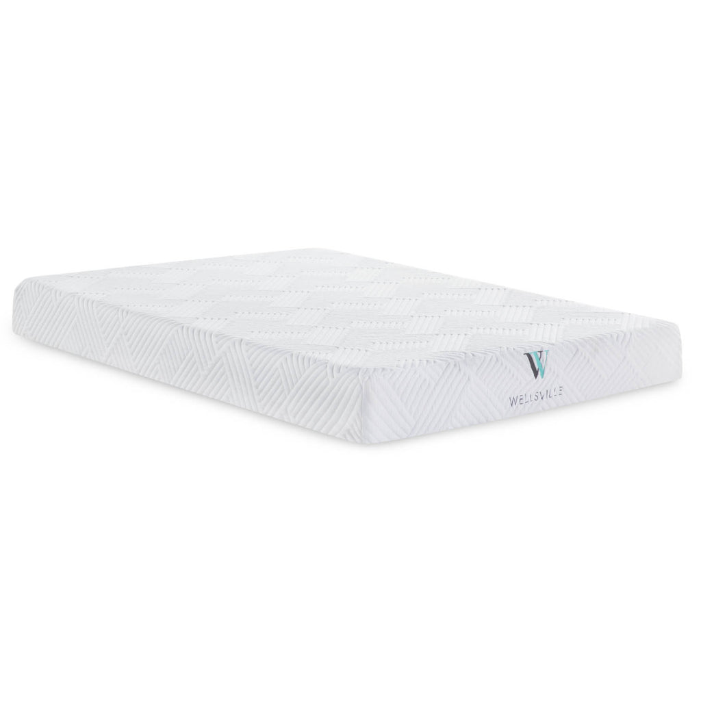 Wellsville 8 inch Gel Foam Mattress - Shop Wellsville Mattresses, pillows, bedding & bedroom accessories