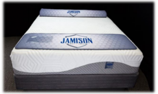 Jamison TLC Latex Collection Bordeaux II Mattress - Shop Wellsville Mattresses, pillows, bedding & bedroom accessories