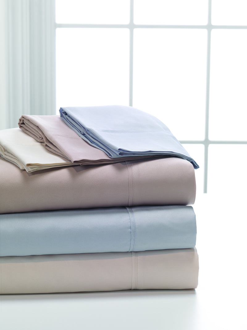 Dreamfit Degree 1 Sheets comes in three colors Slate, Hazelnut, & Bone