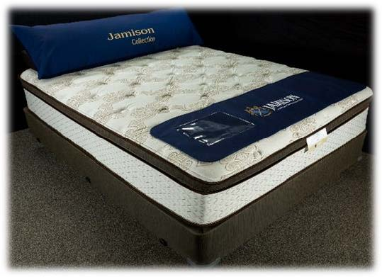 Jamison TLC Hybrid Collection 3000 Eurotop Mattress - Shop Wellsville Mattresses, pillows, bedding & bedroom accessories