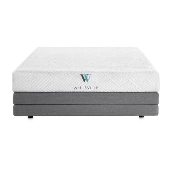 Wellsville 8in Gel Foam Mattress - Shop Wellsville Mattresses, pillows, bedding & bedroom accessories