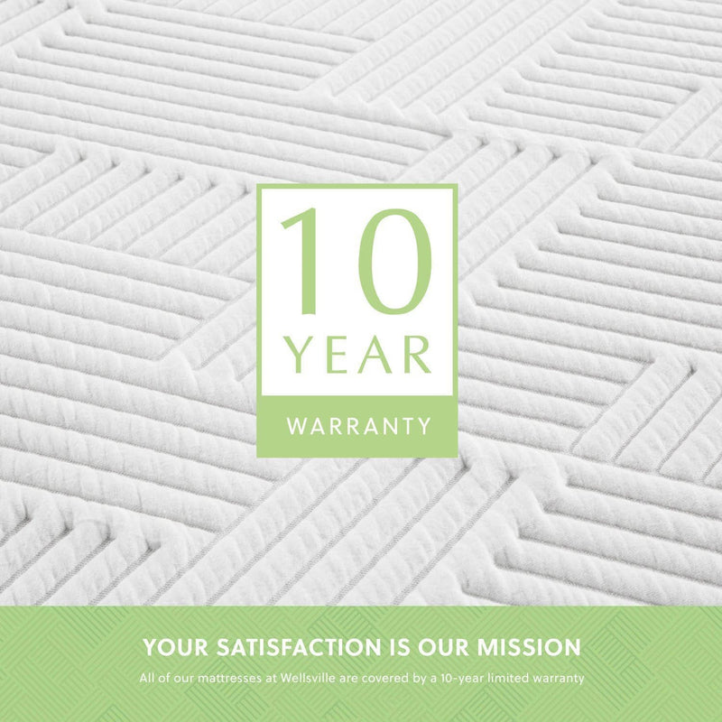 organic latex hybrid mattress offers a 10 year non prorated warranty