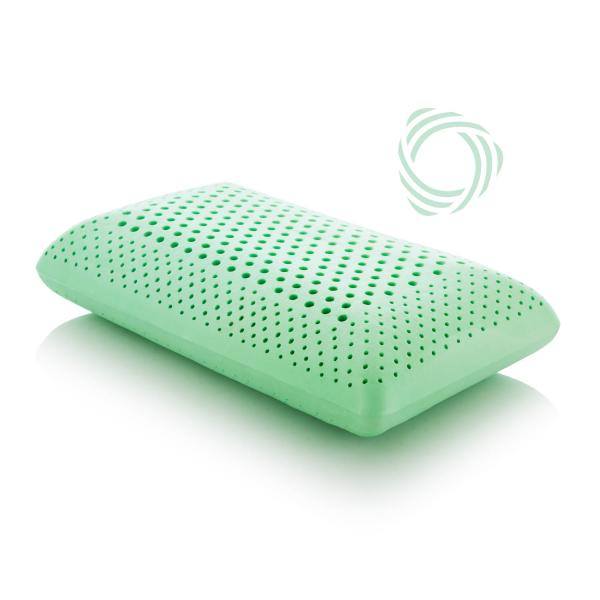 ZONED ActiveDough™ + Peppermint Pillow - Shop Wellsville Mattresses, pillows, bedding & bedroom accessories