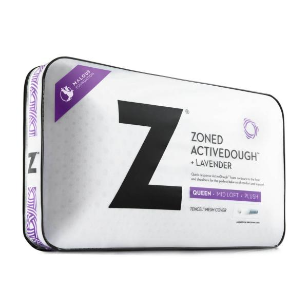 ZONED ActiveDough™ + Lavender Pillow - Shop Wellsville Mattresses, pillows, bedding & bedroom accessories