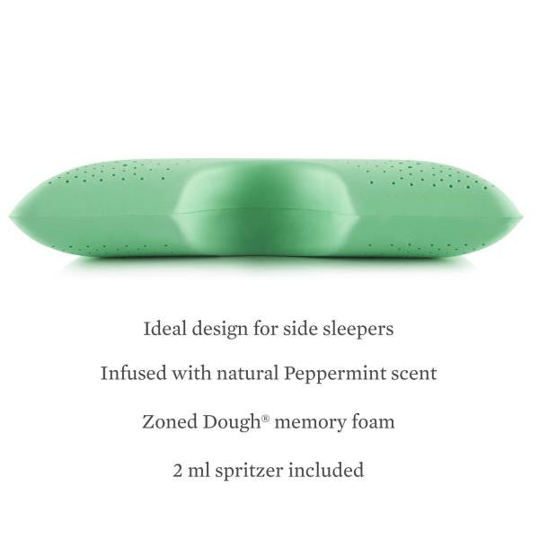 Shoulder Zoned Dough® Peppermint Pillow - Shop Wellsville Mattresses, pillows, bedding & bedroom accessories