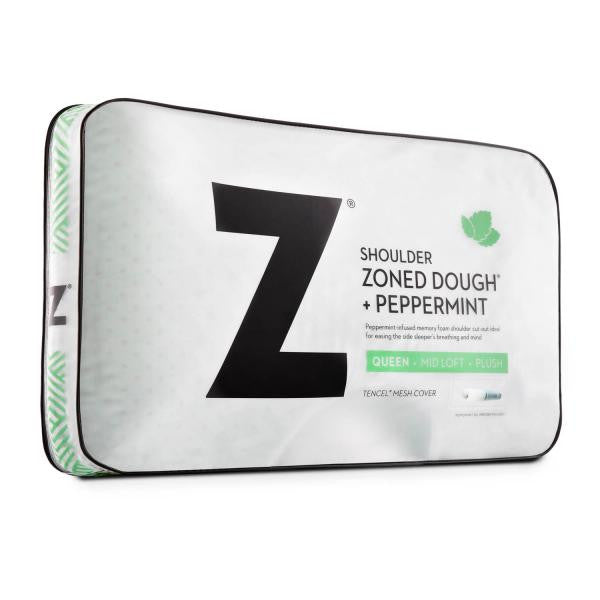 Shoulder Zoned Dough® Peppermint Pillow