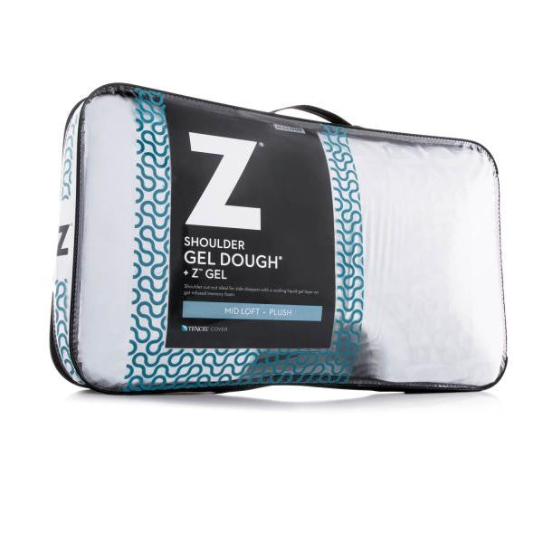 Shoulder Gel Dough® + Z™ Gel Pillow - Shop Wellsville Mattresses, pillows, bedding & bedroom accessories