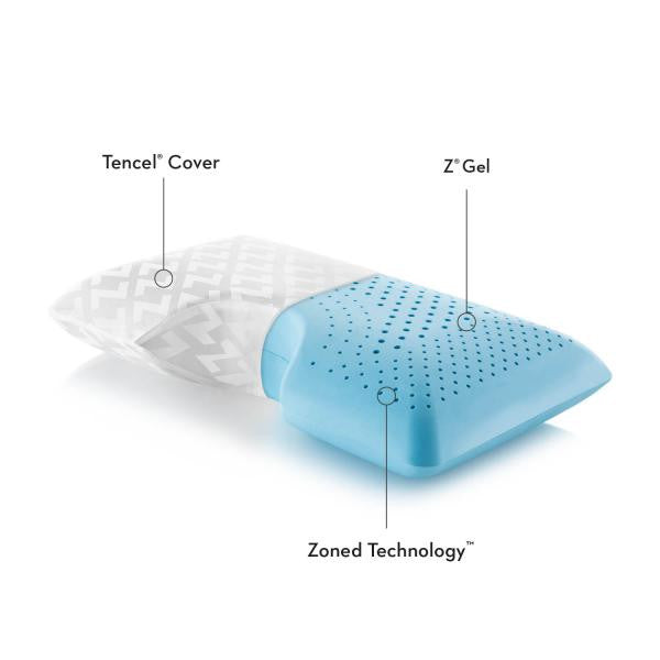 Shoulder Zoned Gel Dough® Pillow - Shop Wellsville Mattresses, pillows, bedding & bedroom accessories