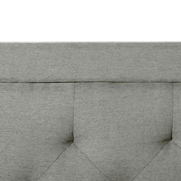 Rectangle Diamond tufted upholstered Headboard by Malouf