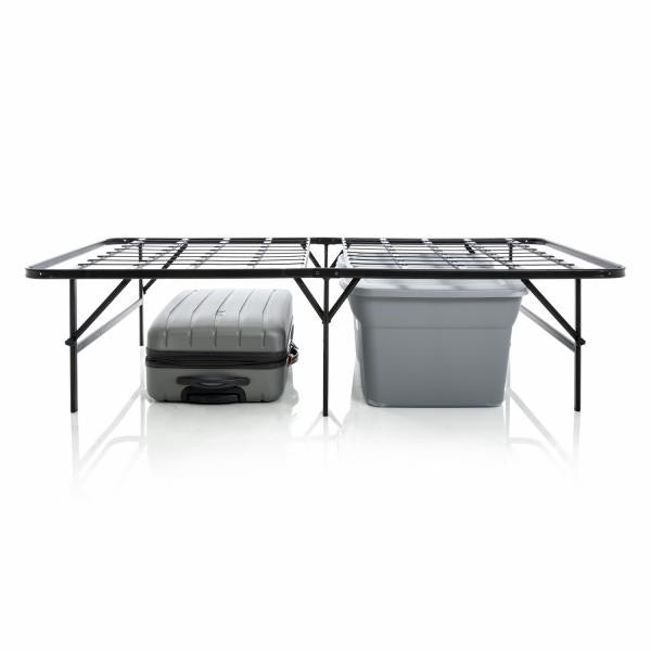 Highrise™ LTH Platform Bed with storage bins underneath