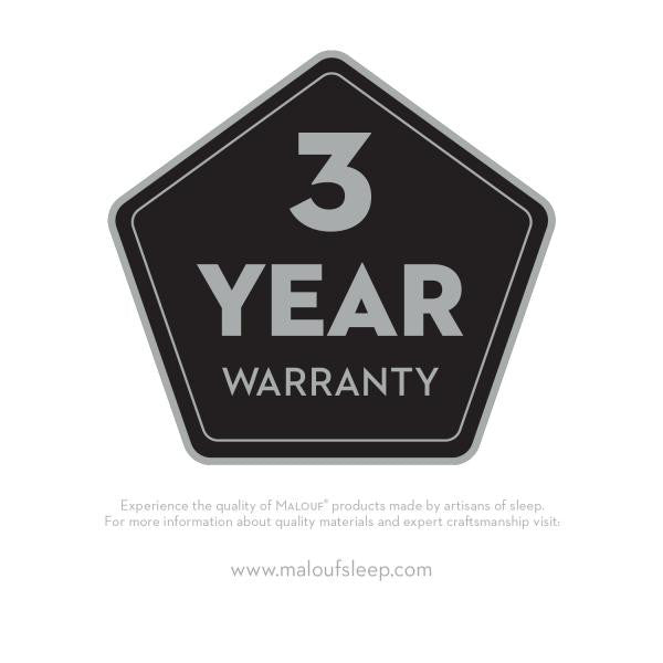 Bolt-on Rail System with Wire Support has 3 year warranty