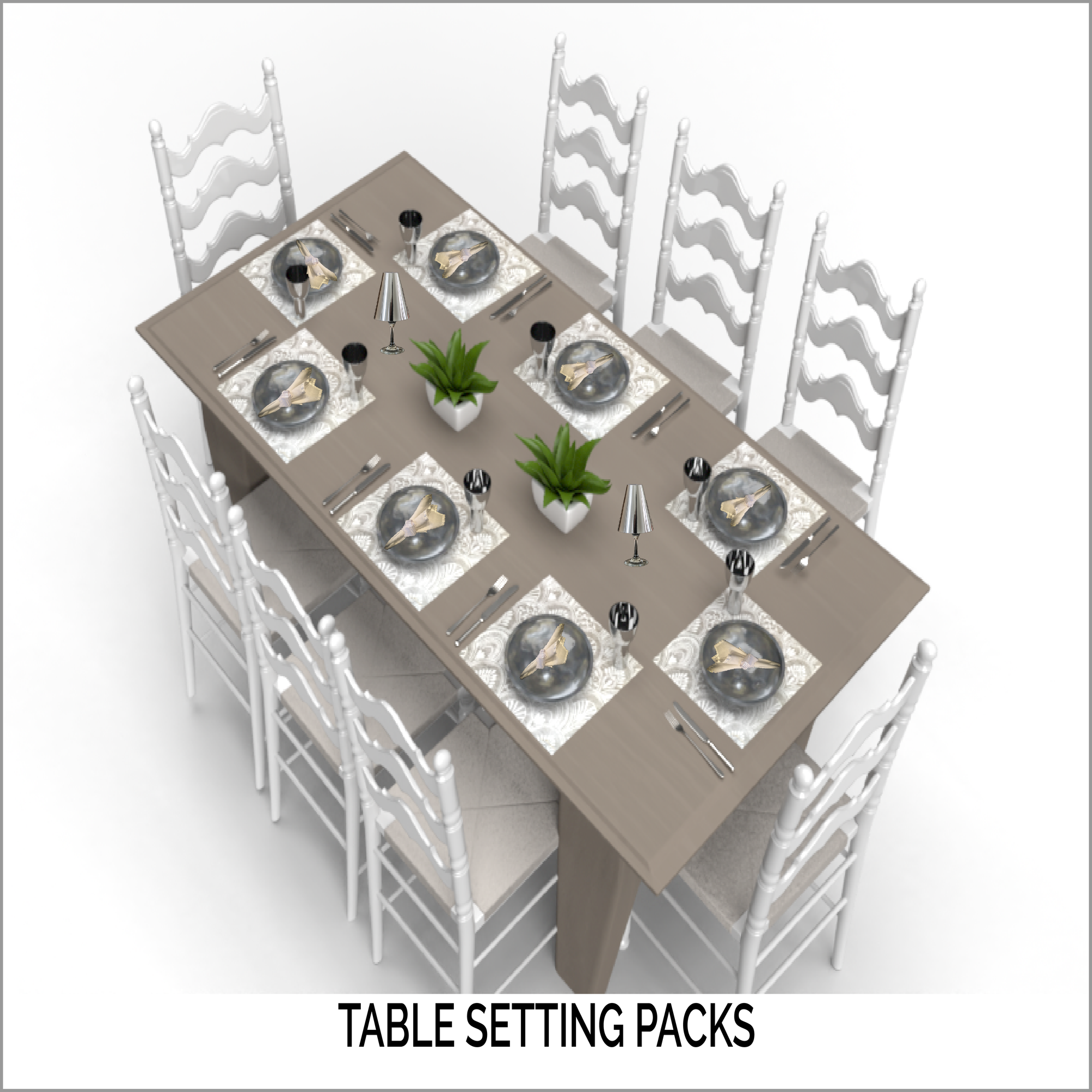 Shop Table Setting Packs