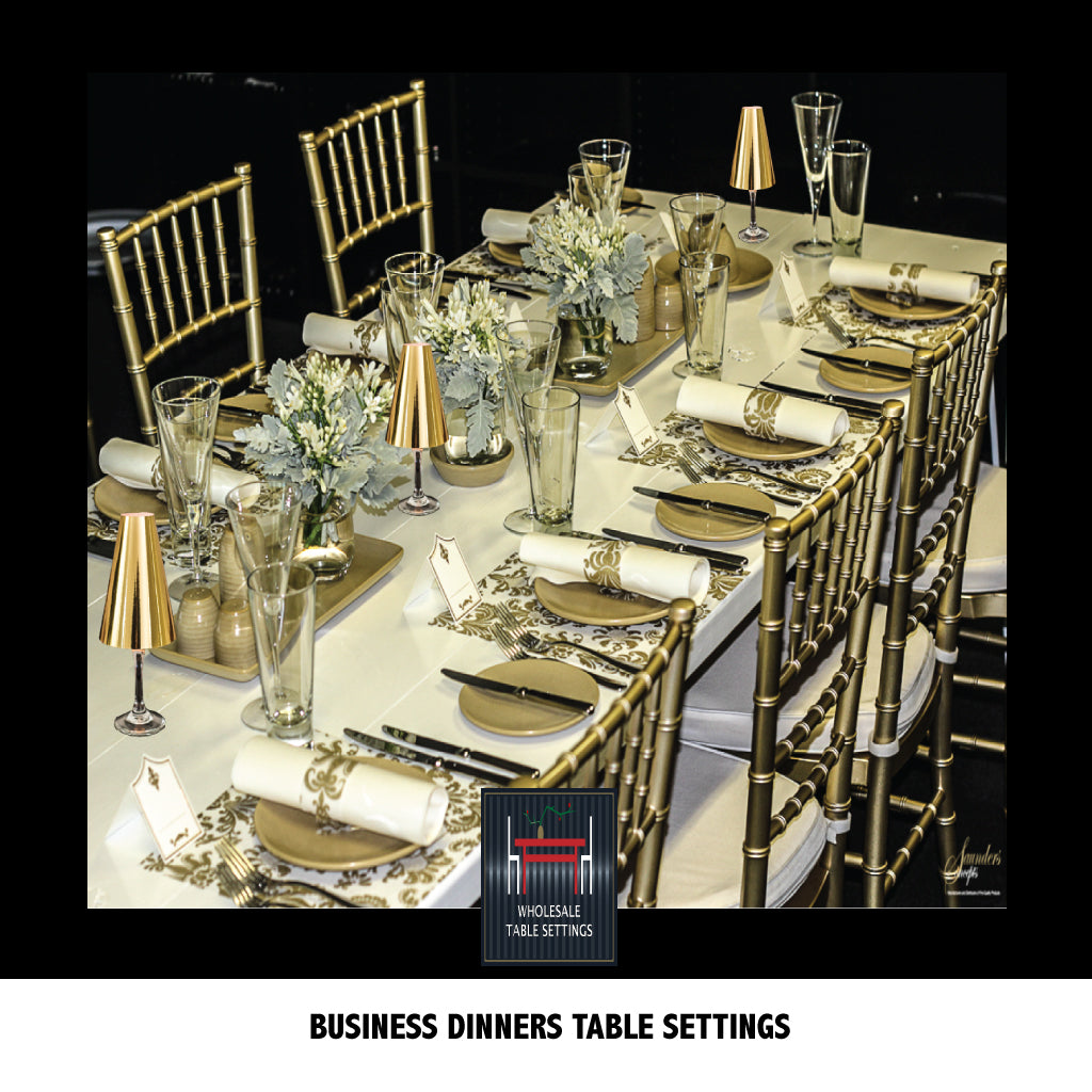 Business Dinner Table Settings Tagged Airlaid Napkins Place Matters