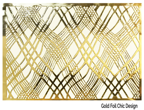 Gold-Placemats