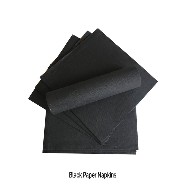 Black Napkins - Place Matters
