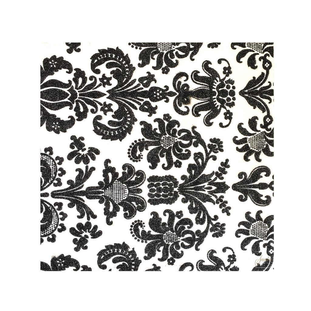 Black Placemats (Royale) Pack of 20 (Square) - Place Matters