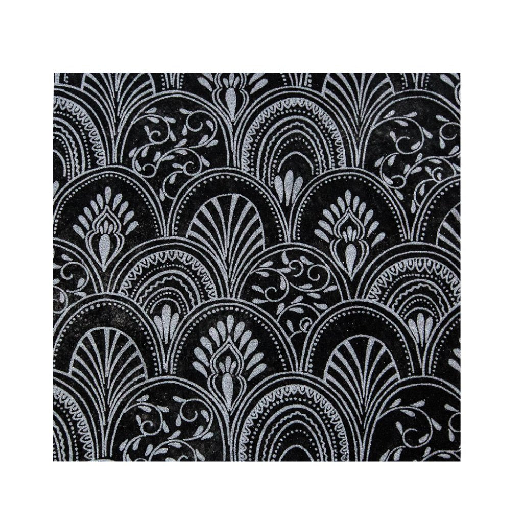 Black Placemats (Milano) Pack of 20 (Square) - Place Matters