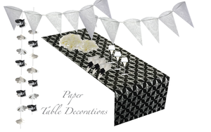 Black Table Runners - Place Matters