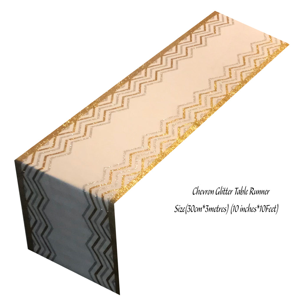 Chevron Table Runners - Place Matters
