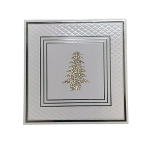 Silver Christmas Placemats (Anni) Pack of 20 - Place Matters