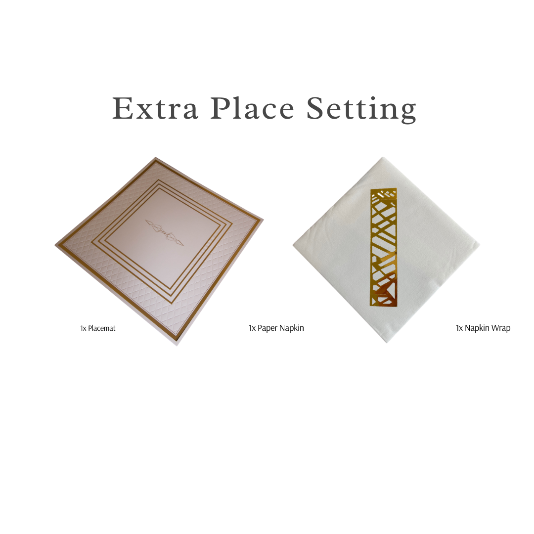 Single Place Setting (Anni Design) - Place Matters