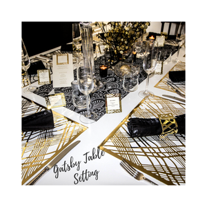 Gatsby Table Setting Pack - Place Matters