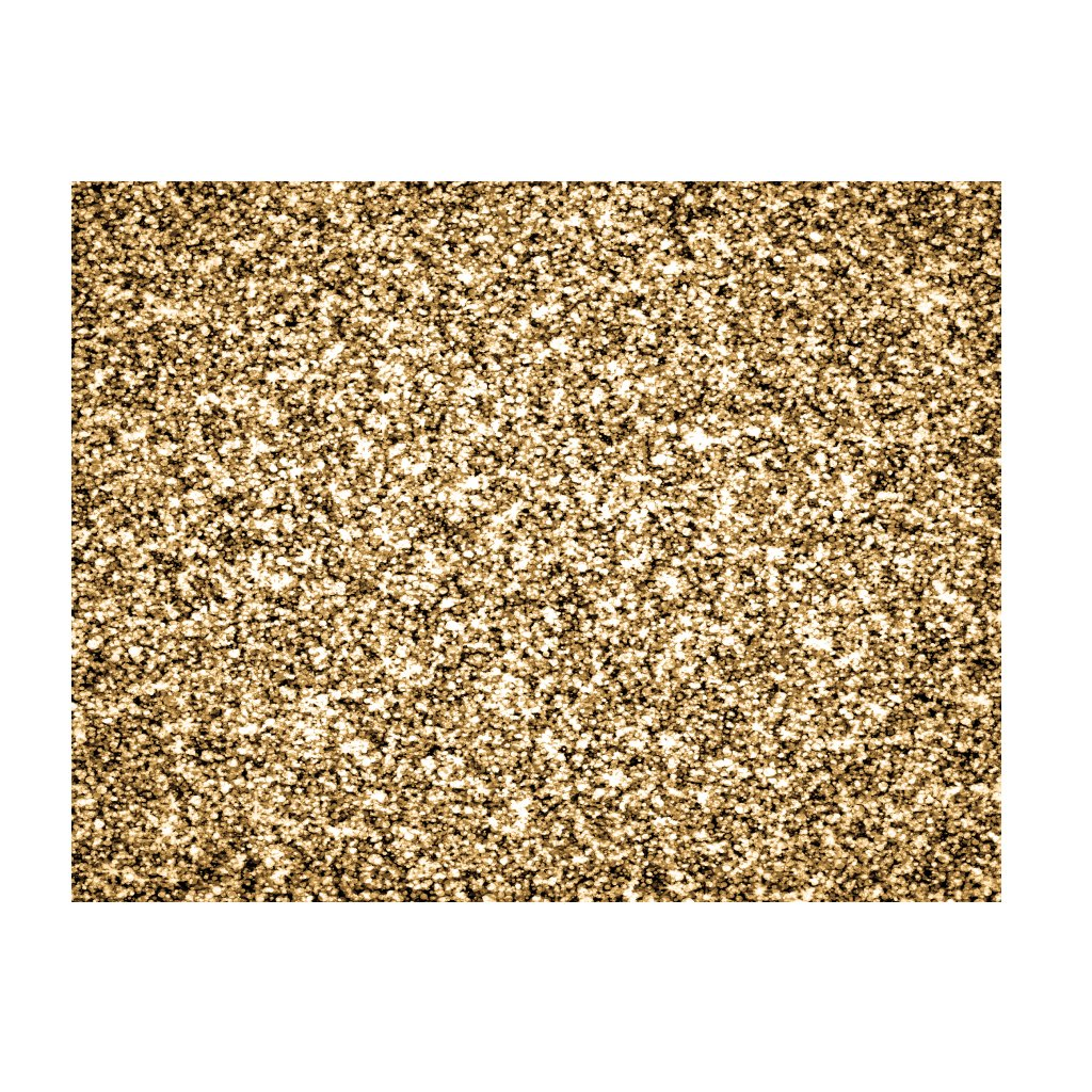 Gold Placemats Glitter (Rectangle) Pack of 20 - Place Matters