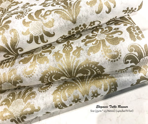 Gold Table Runners - Place Matters