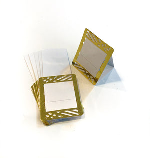 Gold Place Cards (Pack of 20) - Place Matters
