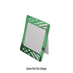 Green Place Cards (Pack of 20)(Weave) - Place Matters
