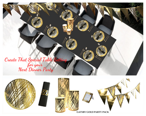 Gatsby Gold Party Pack - Place Matters