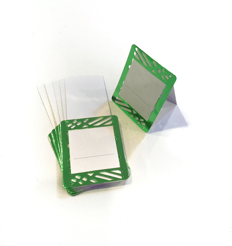 Green Place Cards (Pack of 20) - Place Matters