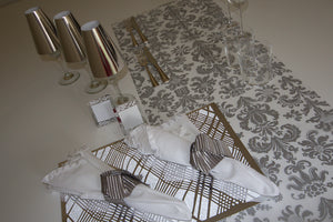 Silver Table Runners - Place Matters