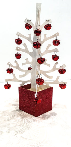 Anni Red Xmas Tree Table Decoration - Place Matters