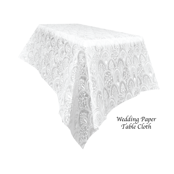 White Paper Table Cloth - Place Matters