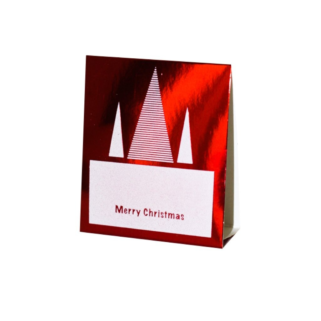 Red Place Cards (Pack of 20)(Christmas Stripe) - Place Matters