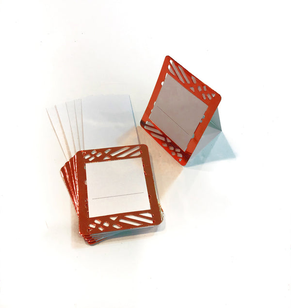 Red Place Cards (Pack of 20) - Place Matters