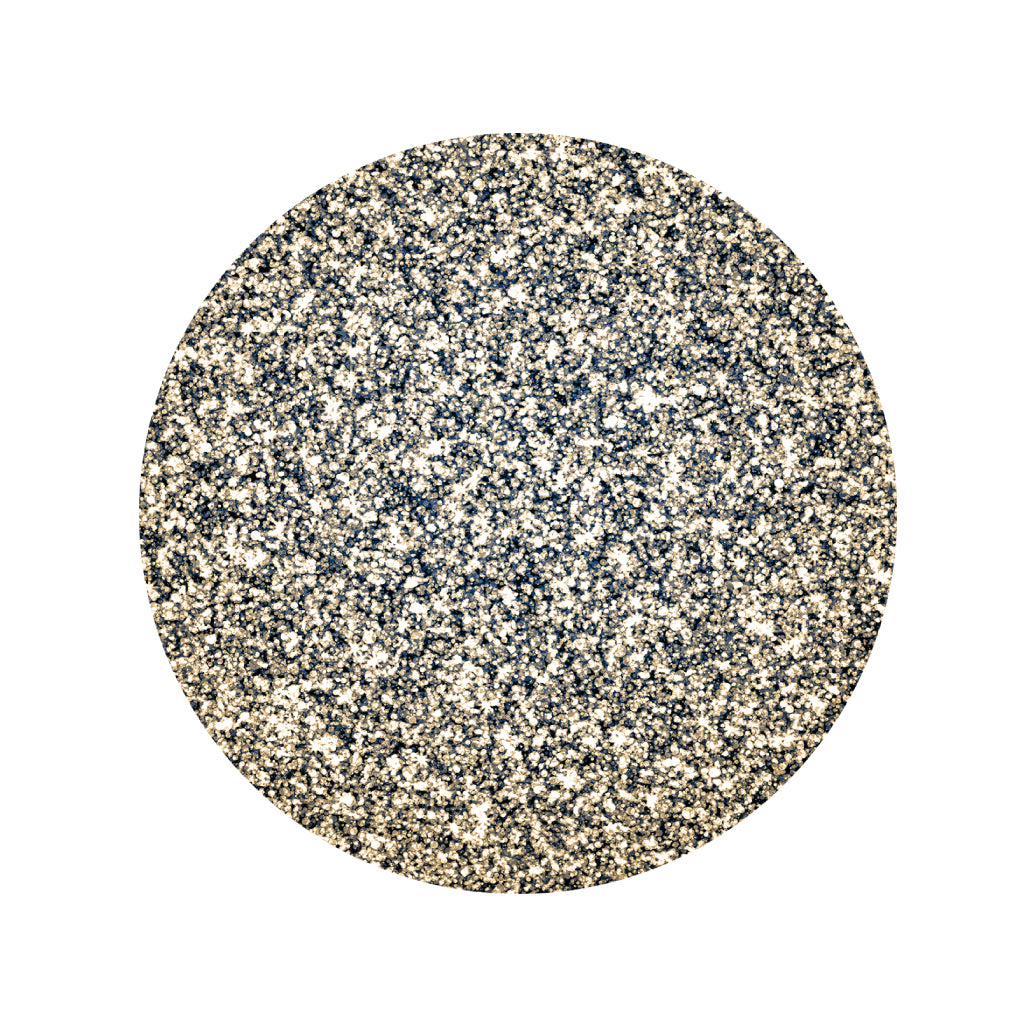 Silver Placemats Glitter (Round) - Place Matters